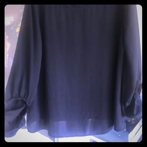 Loft XL blouse - black